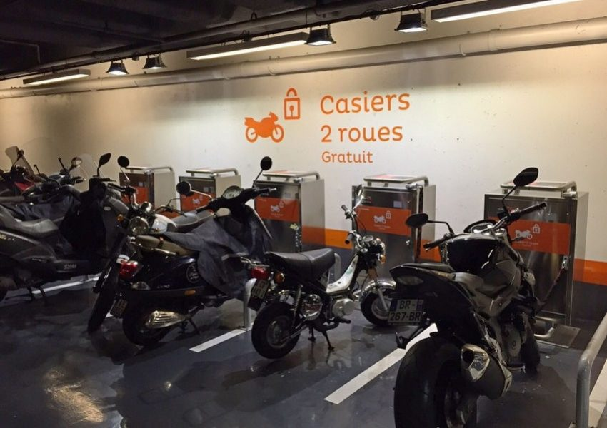 Park Forum des Halles a Parigi 2